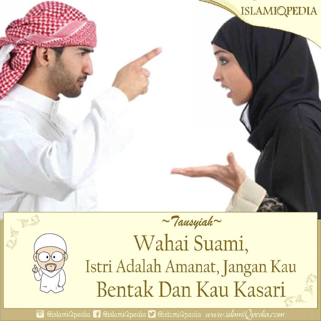 Wahai Suami Jangan Membentak Dan Kasar Terhadap Istrimu
