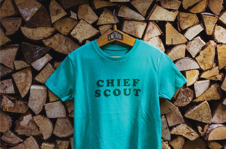 Chief Scout Tshirt - Alfie's Studio