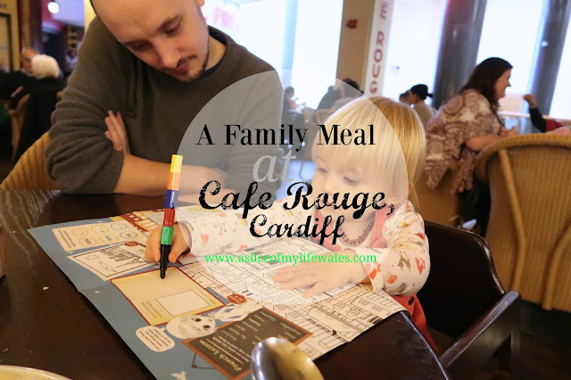 blog review of cafe Rouge in Cardiff dining as a family with a toddler Autumn/Winter 2016 menu