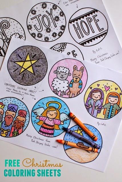 http://www.pinkstripeysocks.com/2014/12/free-christmas-coloring-sheets.html