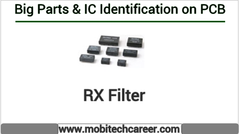 How to identify rx filter on pcb of a mobile phone | All IC identification on PCB circuit diagram | Mobile Phone Repairing Course | iphone Repair | cell phone repair Hindi me