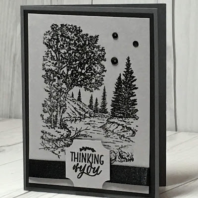 Monochromatic Card idea