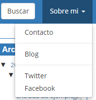 dropdown bootstrap