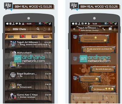 BBM Mod Real Wood