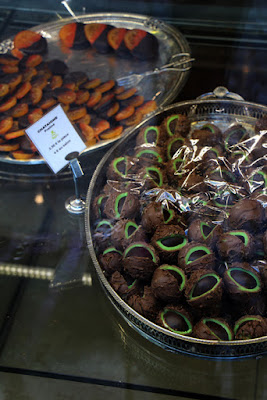 Kastanien aus Schokolade in Strasbourg
