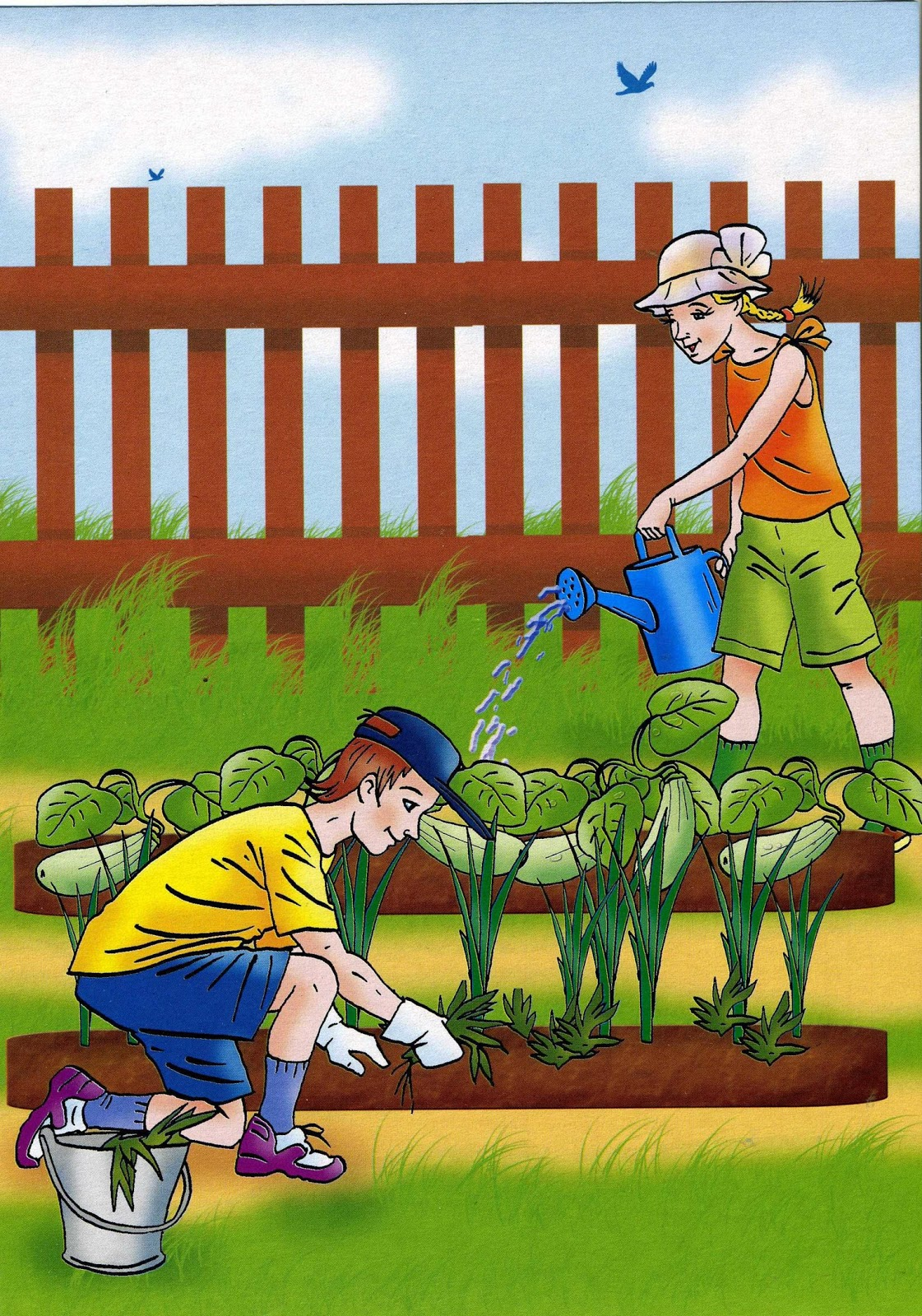 Посвященные великой, труд картинки детские