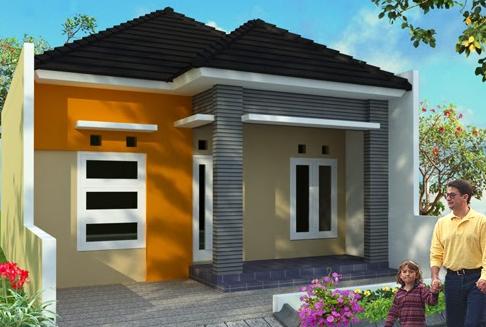 Kombinasi Warna Cat Rumah Minimalis Tampak Depan