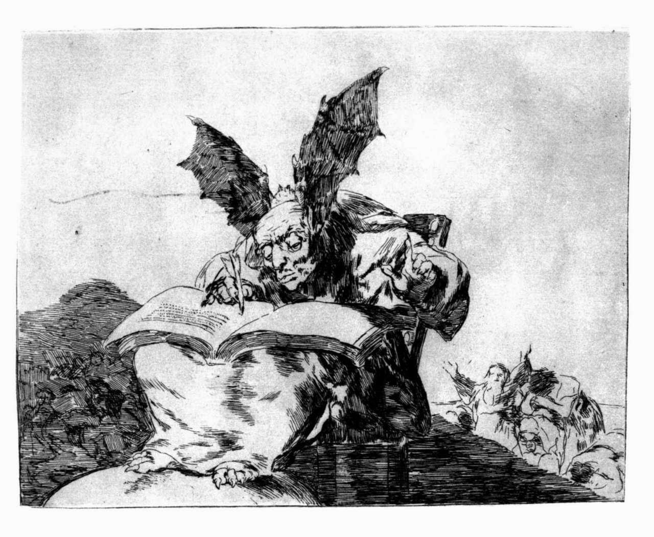 Generał martwej armii, Kadare Ismail, Okres ochronny na czarownice, Carmaniola, Goya