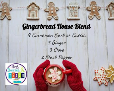 Gingerbread House Essential Oil Diffuser Blend