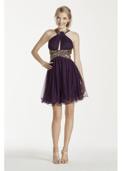 vestidos cortos de 15 años para delgadas