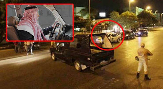 بعد القبض عليه..سعودي يعترف من أين أتى بهذه السيارة!  ووقائع جديدة تكشف سر هذه السيارة!