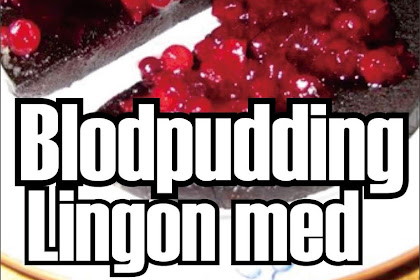 Blodpudding Lingon recipe