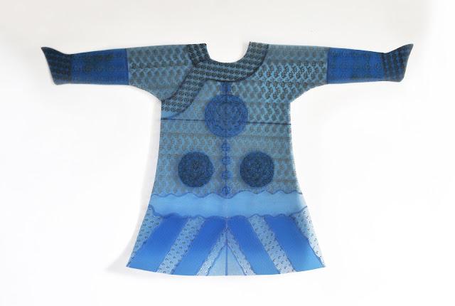 art textile contemporain, radiographies et art