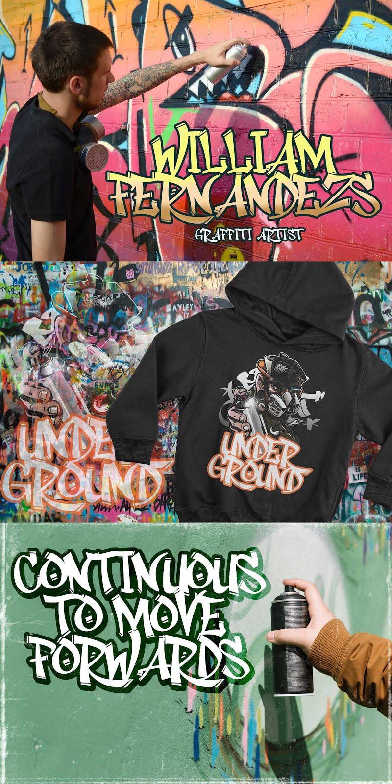 Rhieknuza Graffiti Font Free Download