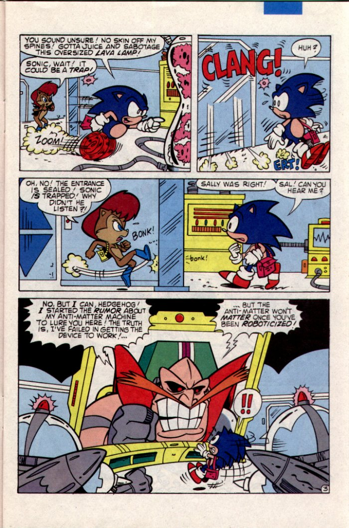 Read online Sonic The Hedgehog comic -  Issue #20 - 4