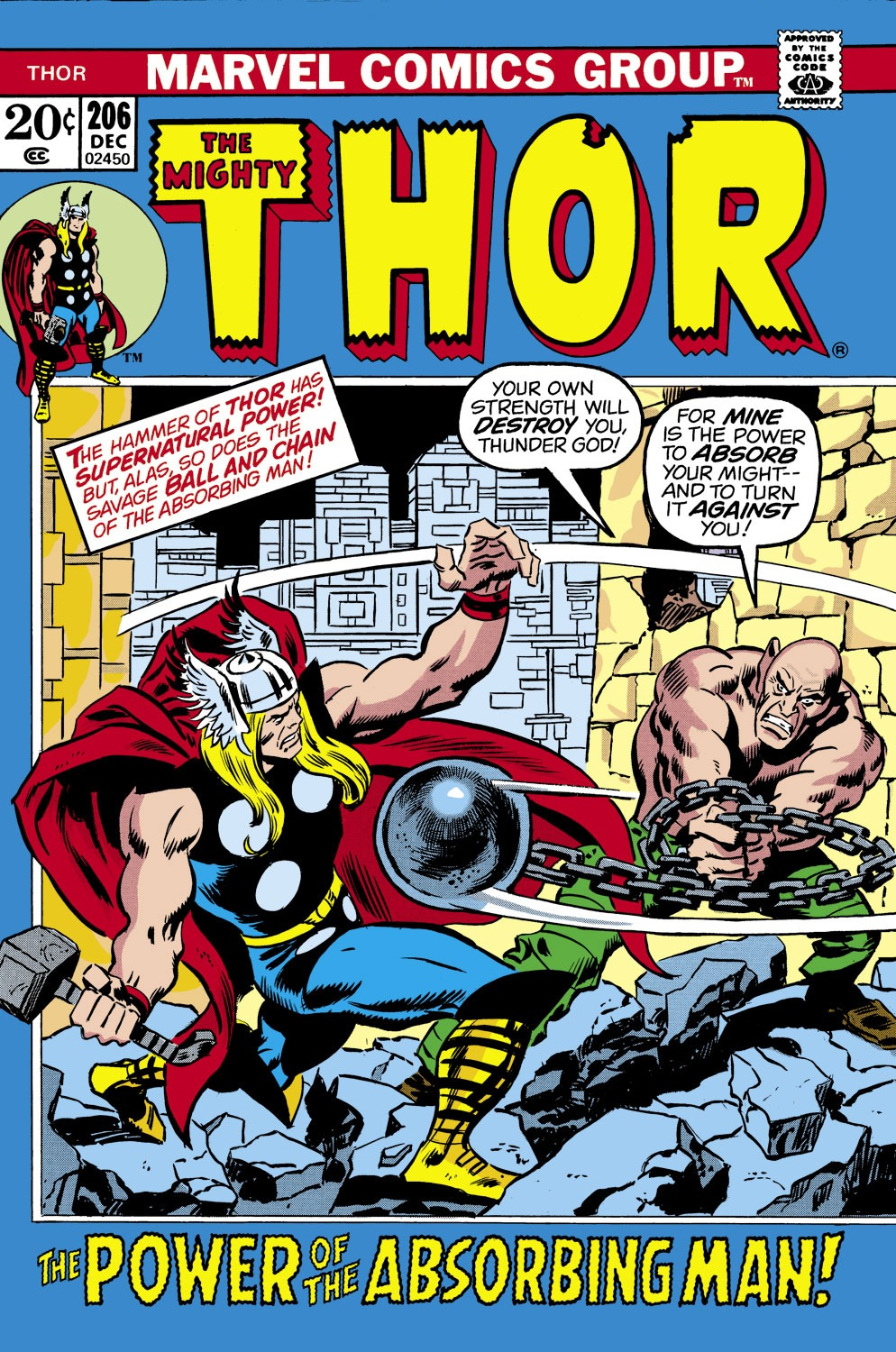 Thor (1966) 206 Page 1