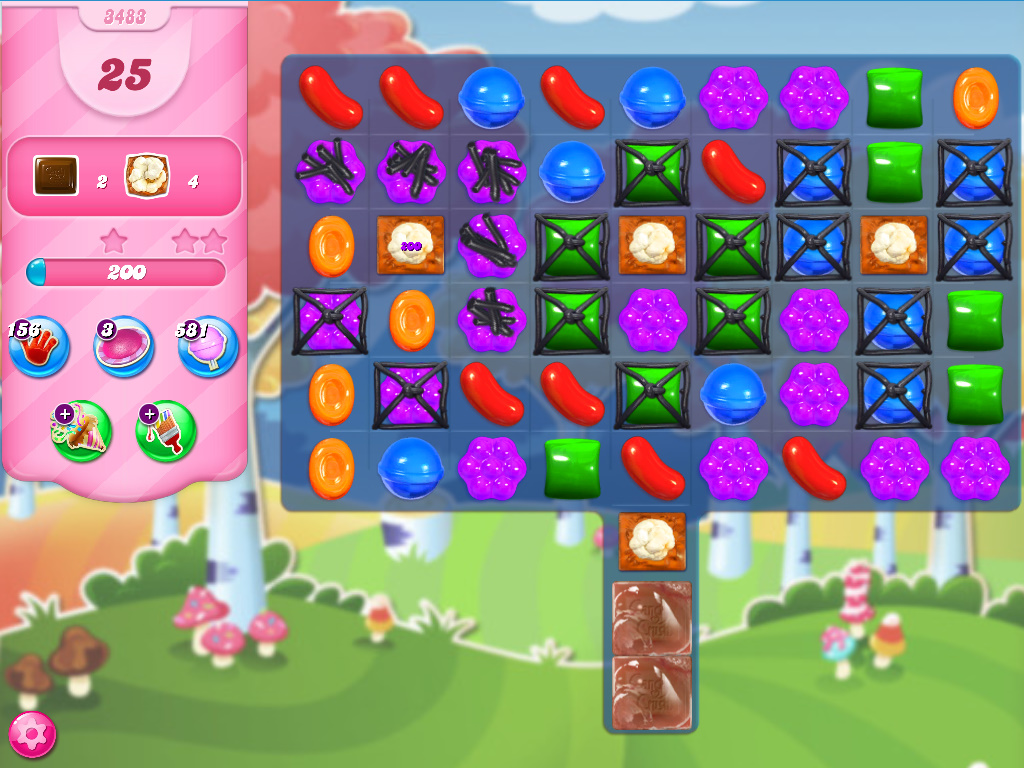 Candy Crush Saga level 3483