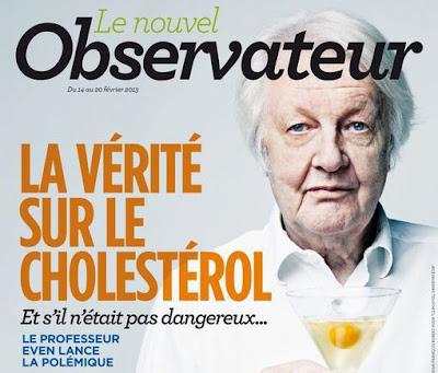 Concernant le cholestérol, la divergence d'analyse ne porte pas à la marge mais sur le cœur de la thèse de l'ouvrage. Pour le médiatique pneumologue «Le cholestérol est sans danger, les statines ne servent à rien et l'infarctus ne tue guère après 75 ans.»