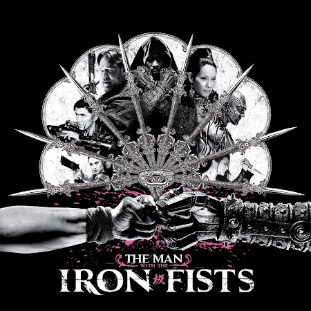 Poster Of The Man with the Iron Fists In Dual Audio Hindi English 300MB Compressed Small Size Pc Movie Free Download Only At worldfree4u.com