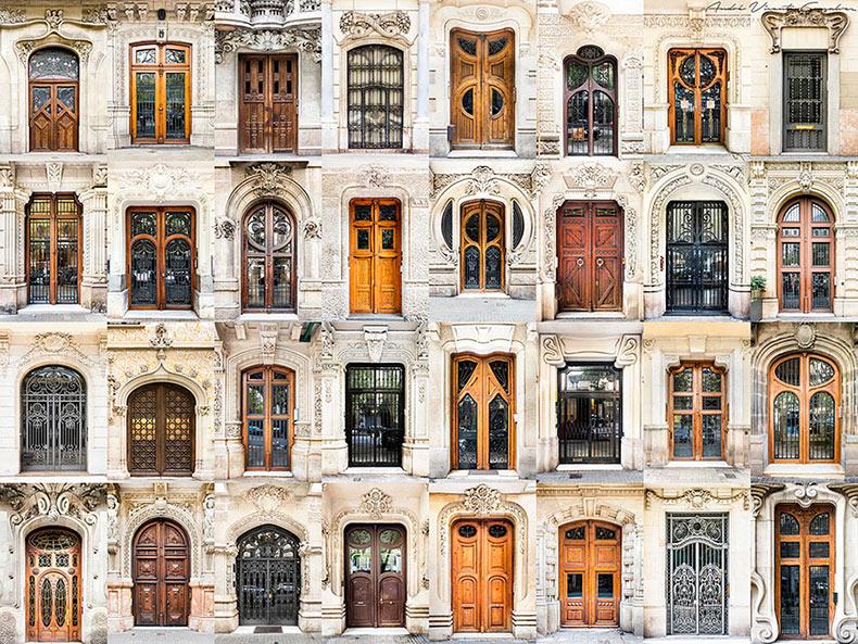 Catálogos visuales de puertas y ventanas de alrededor del mundo de Andre Goncalves
