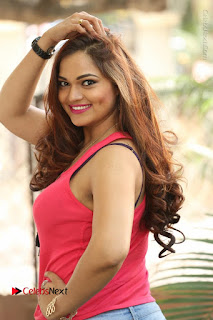 Tollywood Actress Ashwini Latest Stills in Ripped Jeans  0018.JPG