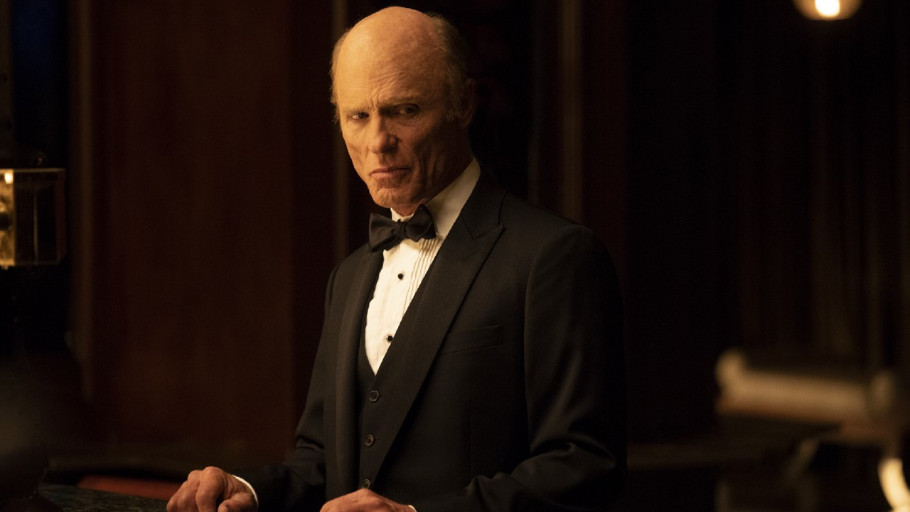 Fotografía de Ed Harris, William, en el 2x09 de Westworld de HBO, Vanishing Point