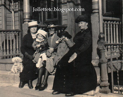Unknown family of Mary Theresa Sheehan Walsh New York 1921 http://jollettetc.blogspot.com
