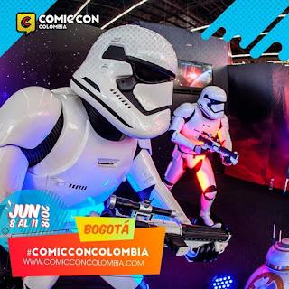 Star Wars COMIC CON Bogotá No. 1 2018