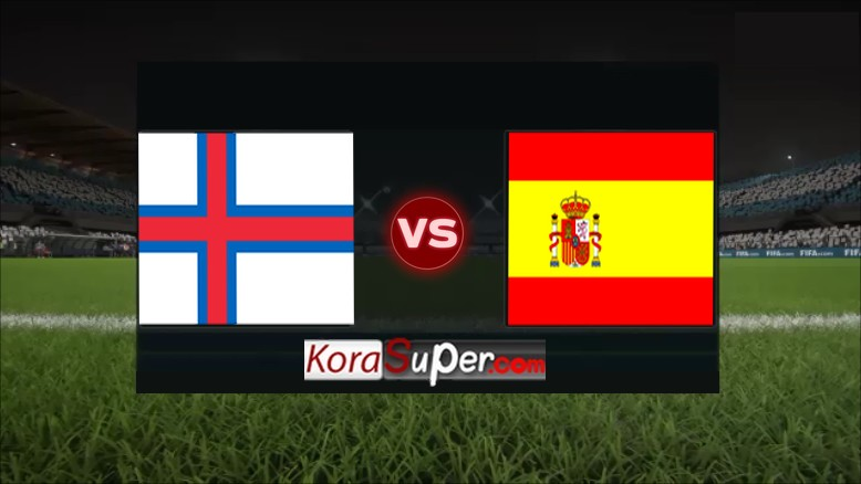 مشاهدة بث مباراة اسبانيا ضد جزر فاروه 08-09-2019