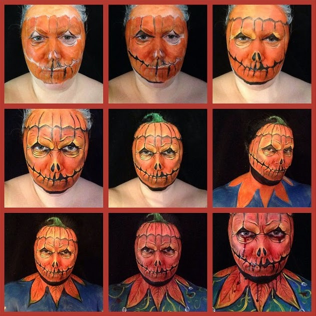 14-Pumpkin-Head-Maria-Malone-Guerbaa-Face-Painting-Artist-Morphs-like-a-Chameleon-Shapeshifter-www-designstack-co