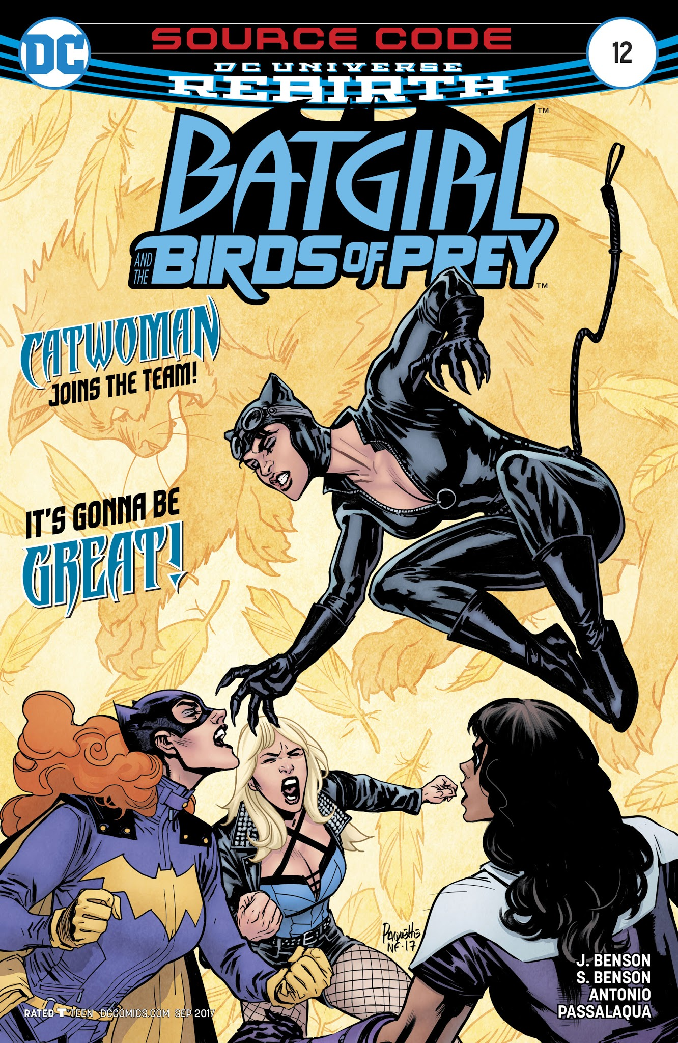 Batgirl and the Birds of Prey 12 Page 1