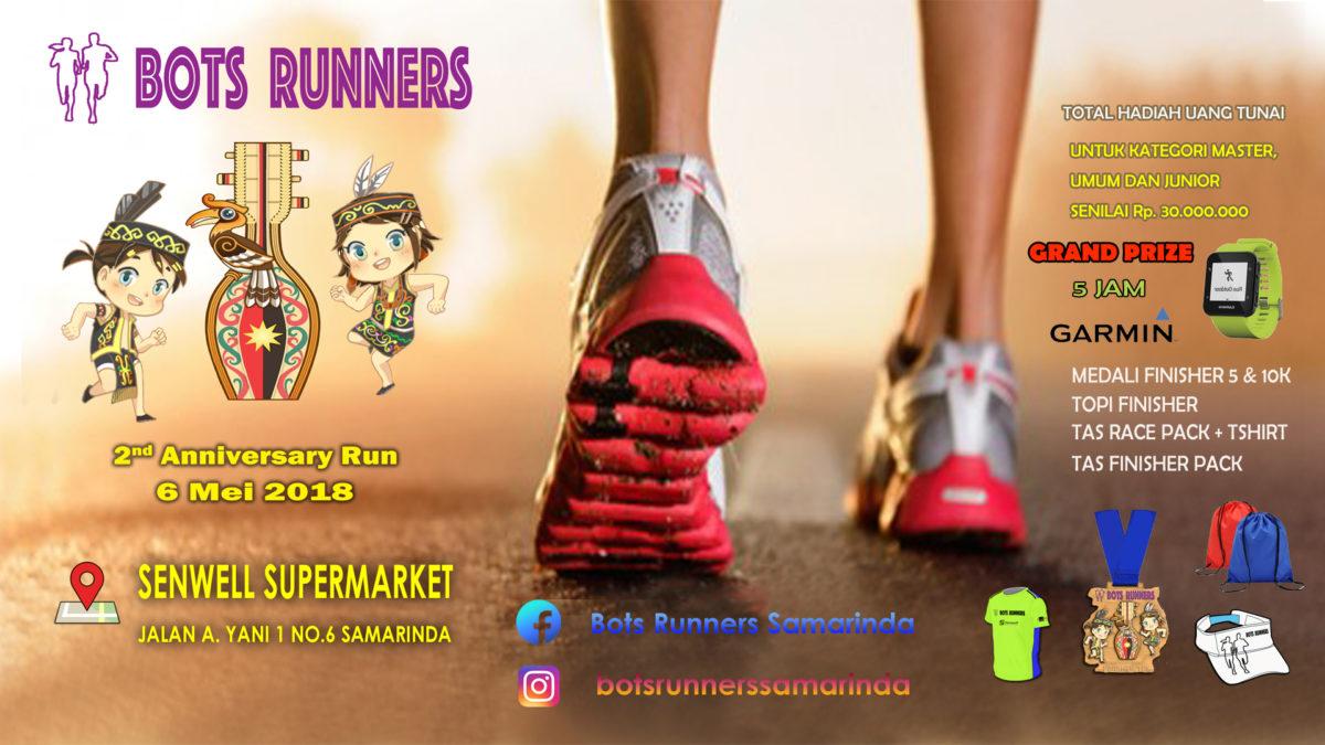 Bots Runners 2nd Anniversary Run • 2018