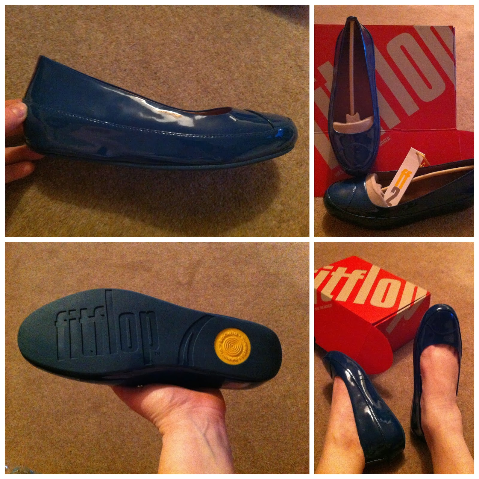74fc46e9f71 Honest Mummy Reviews   Review  Fitflop Due Ballerina Pump in Diving ...
