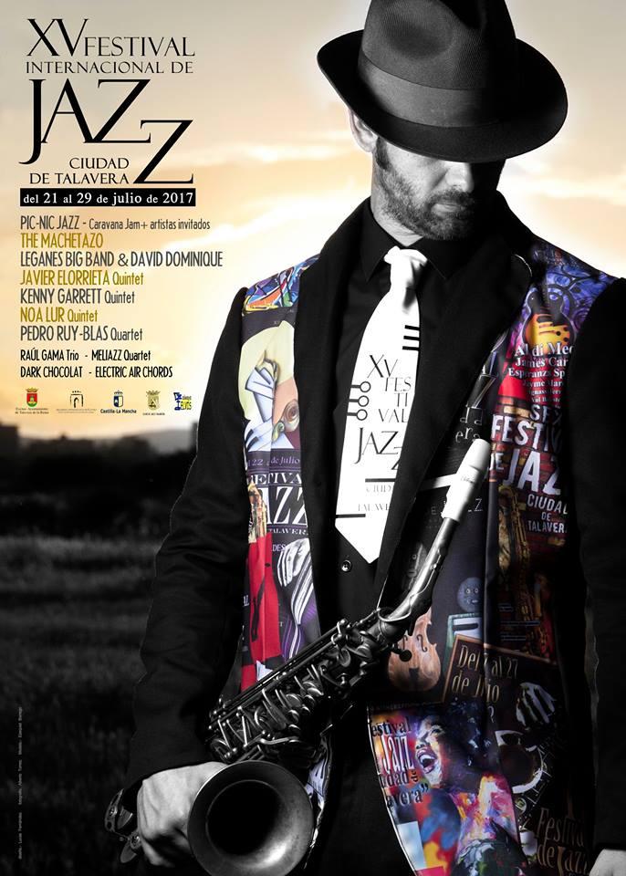 Cartel XV Festival Jazz Ciudad de Talavera 2017