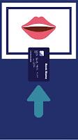 Posisi Memasukkan kartu atm bank mandiri