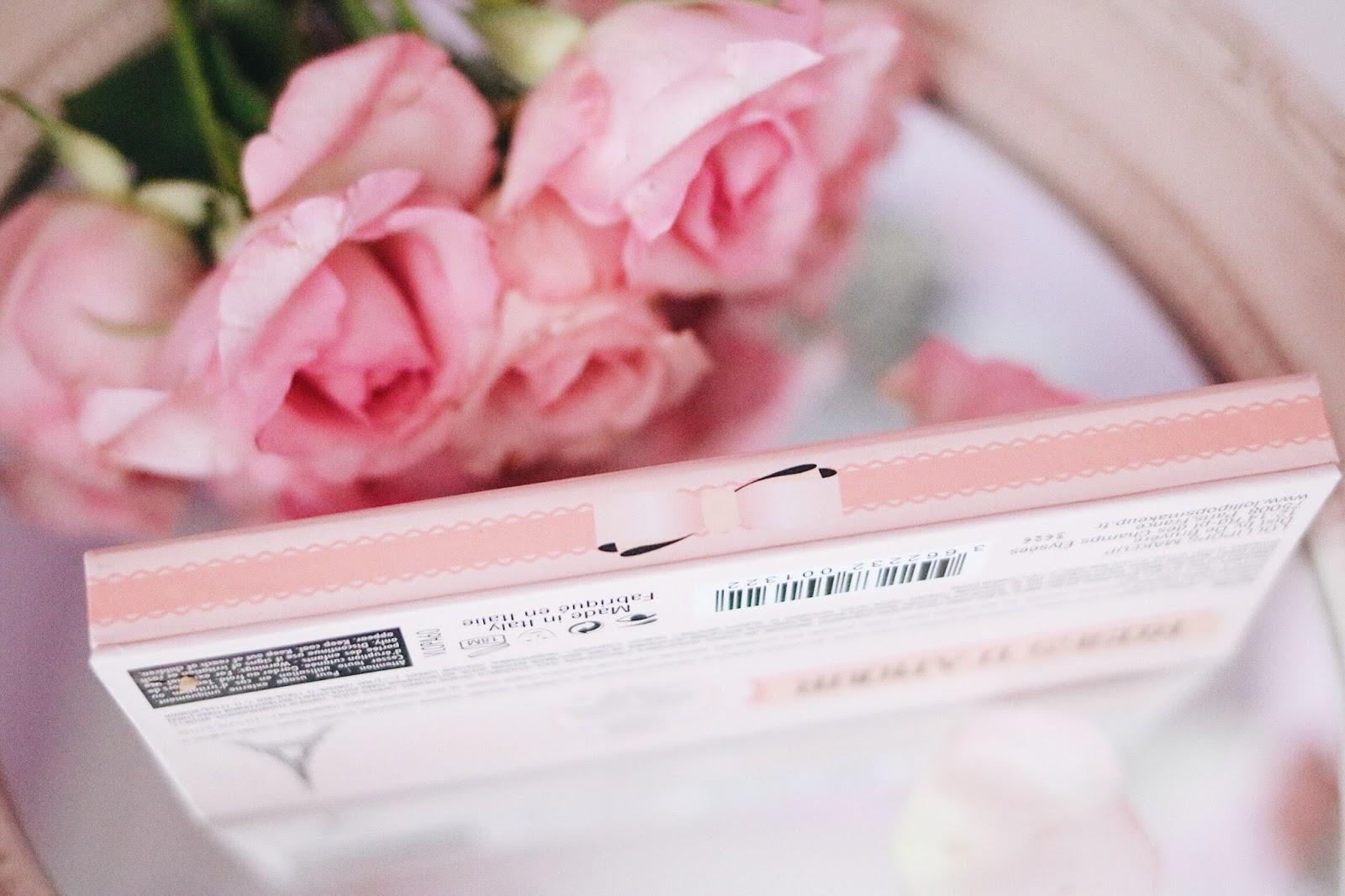 Lollipops Paris , Monoprix , Palette Roses d'amour , lollipops cosmétiques , revue , avis , swatch , rosemademoiselle , rose mademoiselle , blog beauté , paris