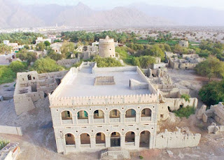 The village of Muslim is a historical fountain in the heart of Oman