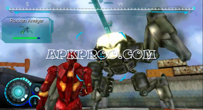 Download Game Iron Man PPSSPP ISO High Compress Full Version Mod Texture