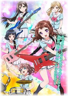 "Nuevo vídeo promocional del anime ""BanG Dream!"""