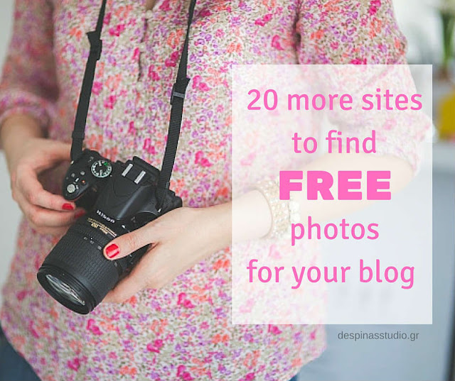 20 more sites to find free stock photos for your blog