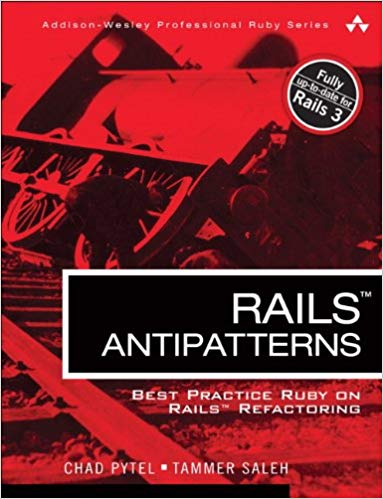 Rails AntiPatterns front cover