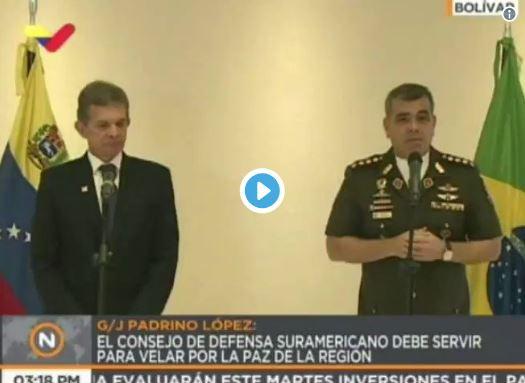 Padrino Lopez dice que no existe ningún tipo de crisis en Venezuela