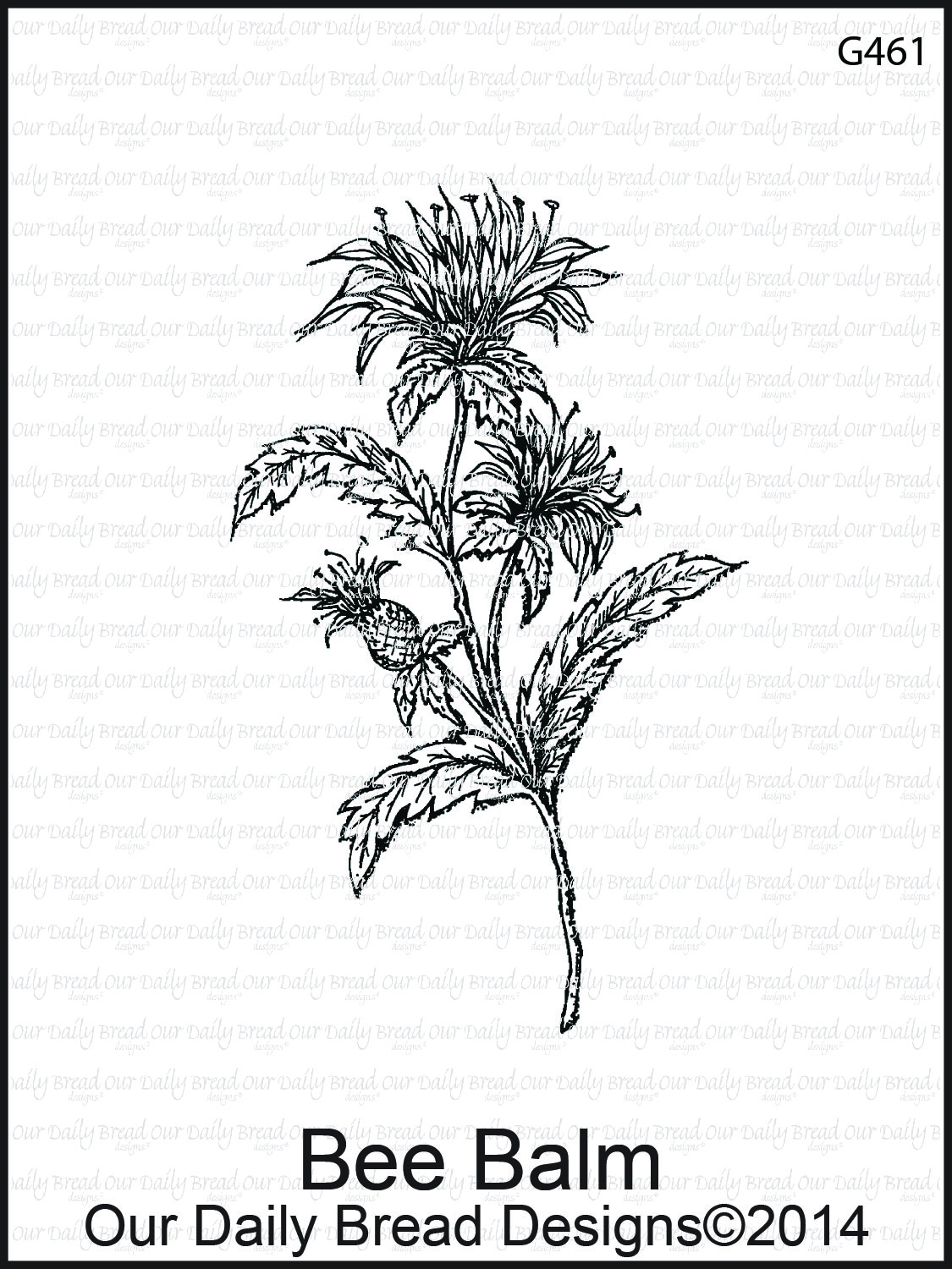 Stamps - Our Daily Bread Designs Bee Balm