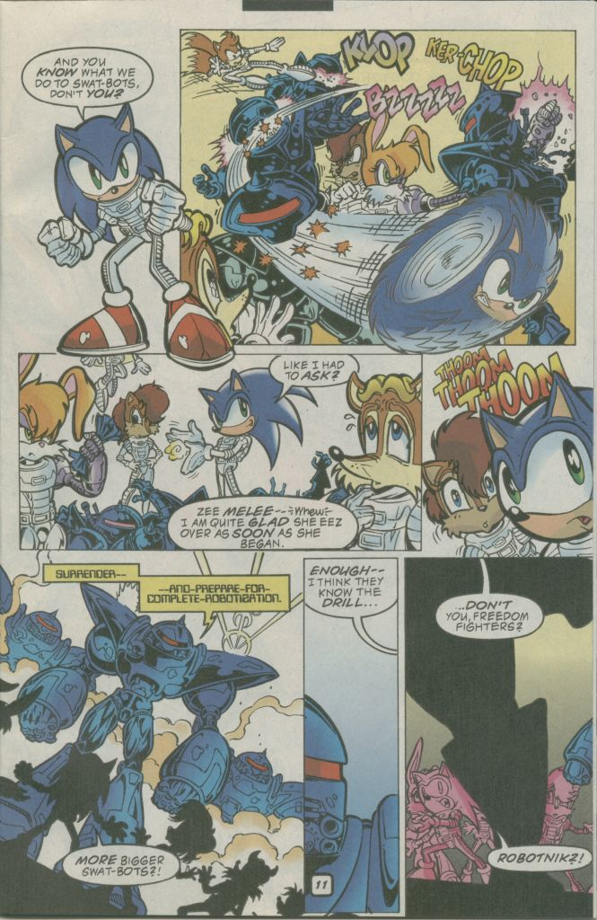 Read online Sonic The Hedgehog comic -  Issue #74 - 15