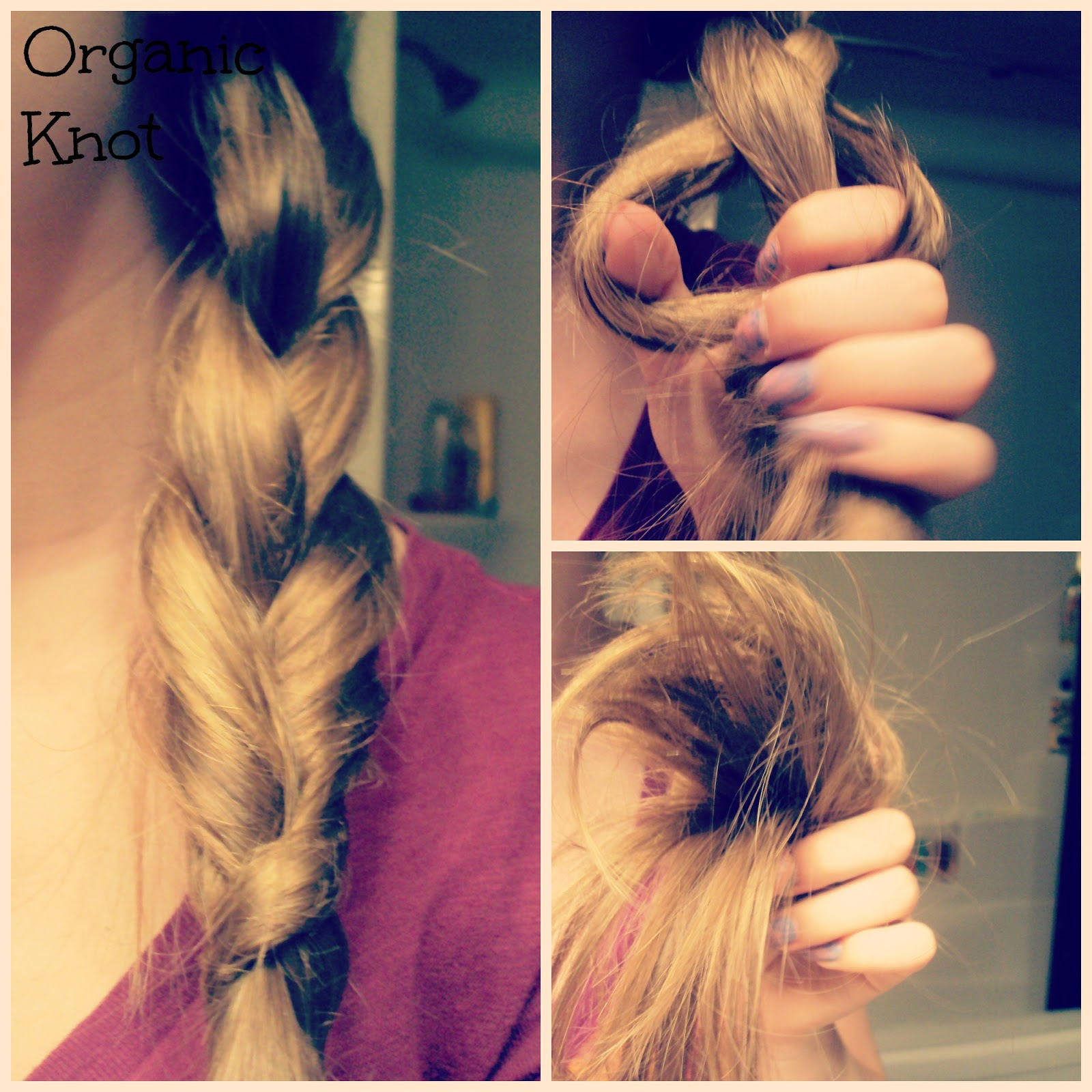 Jacked Up Bangs: HAIR: Four Ways To Tie Off A Braid