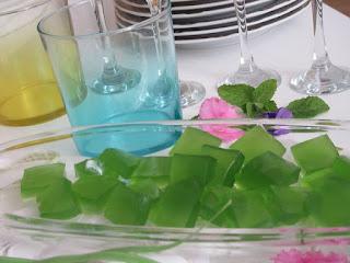 Homemade mint candies