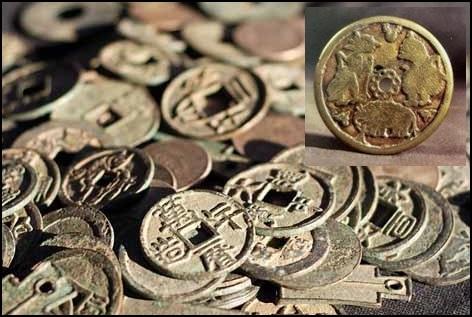 Uang Gabon pada zaman Kerajaan majapahit