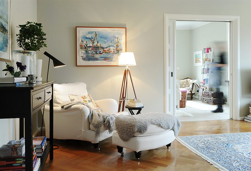 Stockholm Vitt - Interior Design: New England look