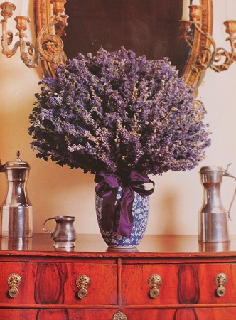 Muyvariadocom Como Decorar Con Flores Secas Composicion Con Lavanda - Decorar-con-flores-secas