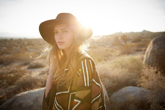 Bohemian Fashion Photography - Shot just outside LA in the Desert of Lancaster